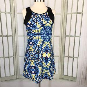 Nanette Lepore Fit Flare Dress Stretch Sleeveless